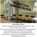 Summer Meeting Offer